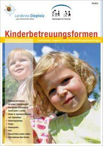 Deckblatt Broschüere Kinderbetreuung